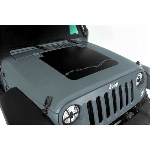 Omix Ada 12300.12 Hood Decal, Barbed Wire, 07-16 Jeep Wrangler