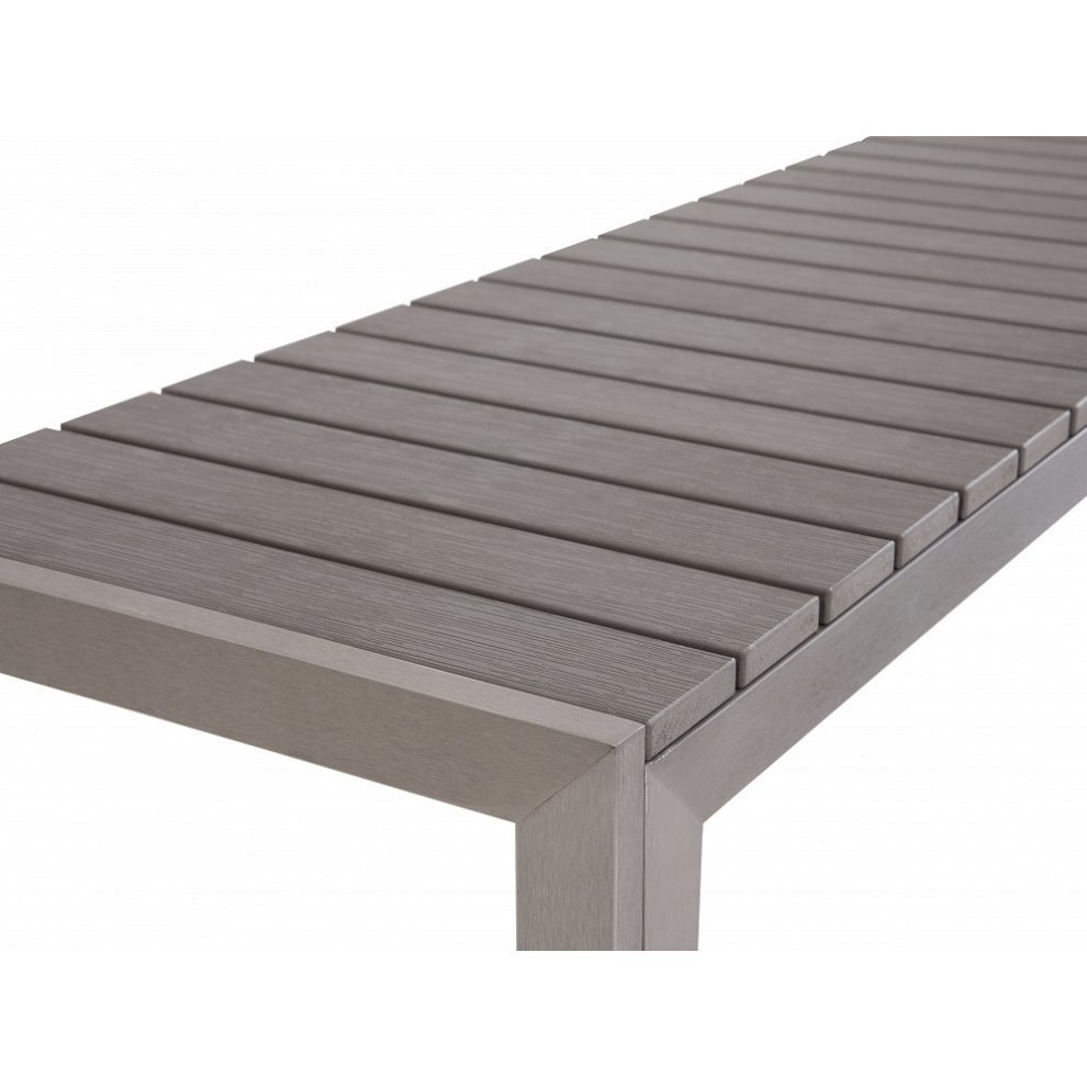 Phenomenal Modern Outdoor Dining Set Table And Benches Poly Wood Nardo Grey Unemploymentrelief Wooden Chair Designs For Living Room Unemploymentrelieforg