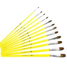 6 PCS Art Supplies Paint Brush Acrylic Paint Oil Painting (Singular Number)-02