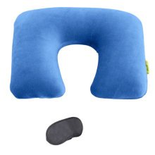 Cotton Inflatable Travel Pillow Detachable U-shaped Office Pillow