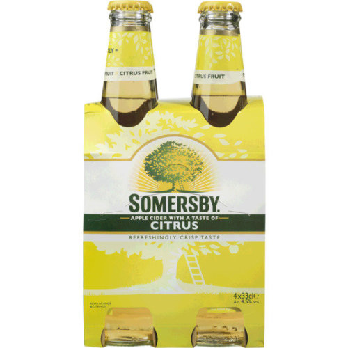 Cider Somersby Citrus - Pack 16x33cl