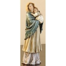 9 Inch Madonna Of The Streets Figure (Roman 4124-1)