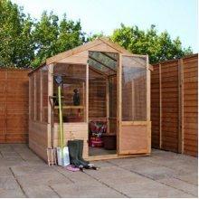4x6 Budget Greenhouse