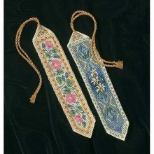 D06783 - Dimensions Counted X Stitch - Gold Petite, Elegant Bookmarks