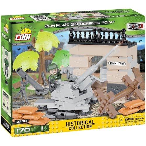 COB02388 - Cobi - Small Army - 2cm Flak 30 Defense Point  (160 Pcs)