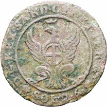 Italian states Sardinia 1815 AL 2.6 Soldi Vittorio Emanuele I Coin
