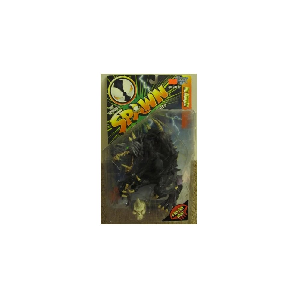 WARPED mcfarlane toys McFarlane Spawn 7 The Mangler black