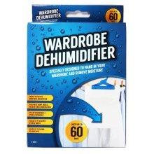 Wardrobe Hanging Dehumidifier Sachet 60 Days Prevent Damp