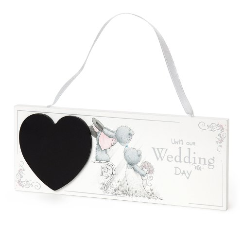 Me to You Wedding Day Countdown Plaque