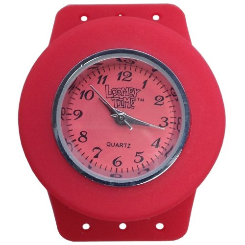 Loomey Time Single Watch (Raspberry Red)
