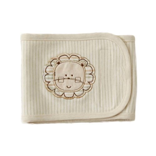 Cotton Baby Belly Band Keep Warm Bellyband Baby Bibs Lion Pattern Cover