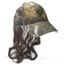 Billy-ray Hat And Hair Camo Style