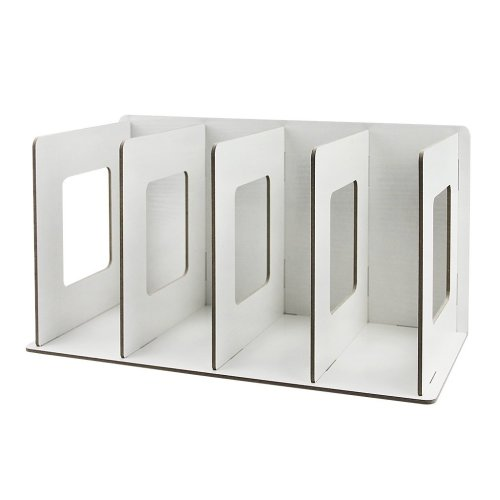 Liying Creative ECO Wood Sturdy Detachable File Rack Desk Book Notebook Magazine Organizer File Dividers Document Cabinet Rack Display Storage Box...
