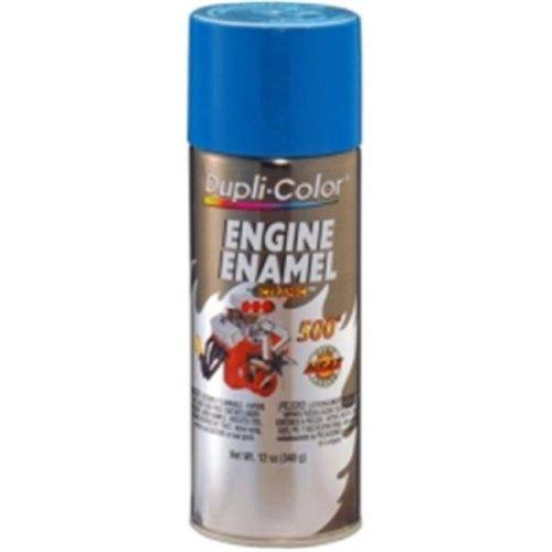 Krylon DE1608 12 oz Engine Enamel Paint, General Motors Blue