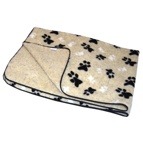 Fleece Blanket Cream Small 74x61cm (29x24'')