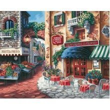 Dpw91320 - Paintsworks Paint by Numbers - Taste of Italy