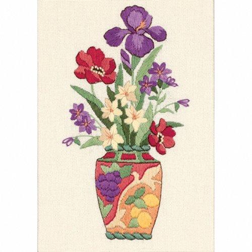D06230 - Dimenions Mini Crewel - Elegant Floral