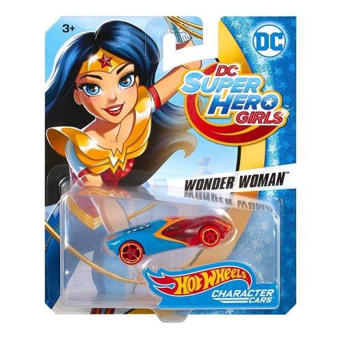 DC Super Hero Girls - Wonder Woman Hot Wheels Vehicle