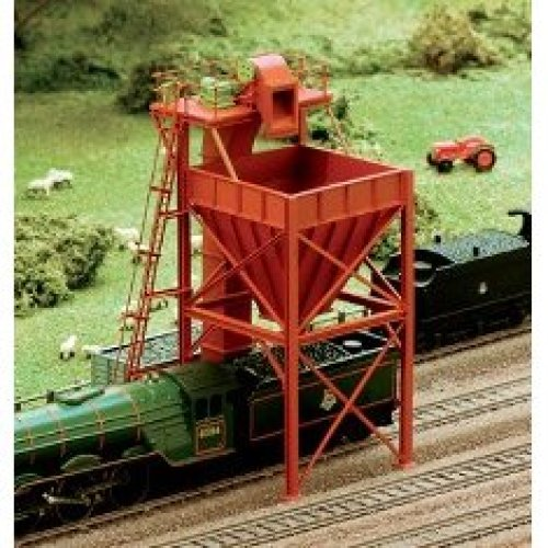 Locomotive Coaling Tower - N gauge Ratio 247 Free Post P3