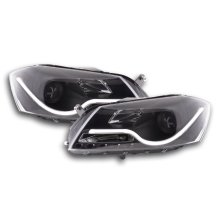 Daylight headlight VW Passat B7 3C Year 10- black