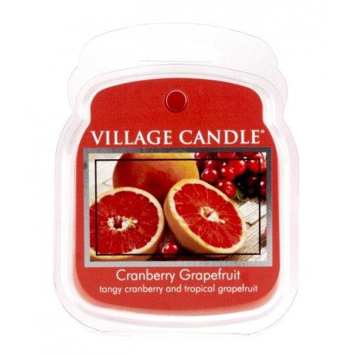 Village Candle Wax Melt Packs For Use with Melt Tart & Oil Burners Cranberry Grapefruit