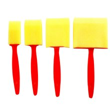 Set of 2 Early Learning Mini Sponge Painting Brushes Painting Tools for Kids [B]