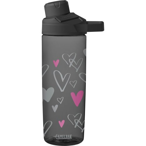 Cambelbak Kid's Sketched Hearts Chute Mag 0.6L bottle water bottle, 600ml