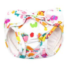 Reusable Swim Diaper Adjustable Absorbent Shower Diapers for Baby Toddler, A03