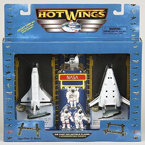 Hot Wings Space Play Set