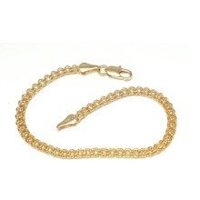 New 9 CT Gold Filled Bismark Bracelet For Lady B4