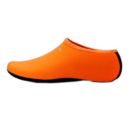 Sand Socks Water Skin Shoes Diving Socks,Orange XXL