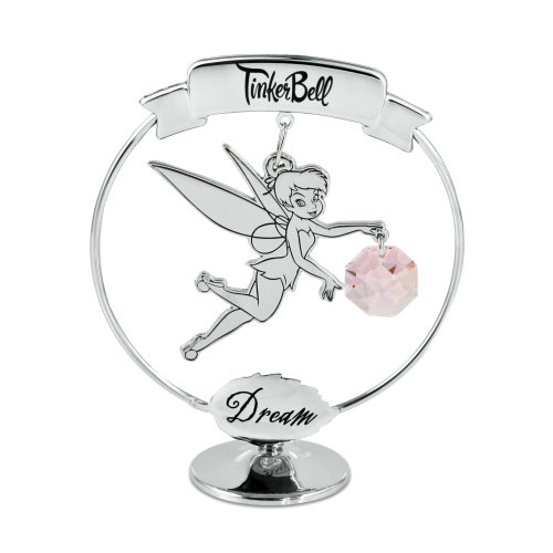 Disney Tinkerbell Dream Freestanding Ornament with Swarovski Crystal