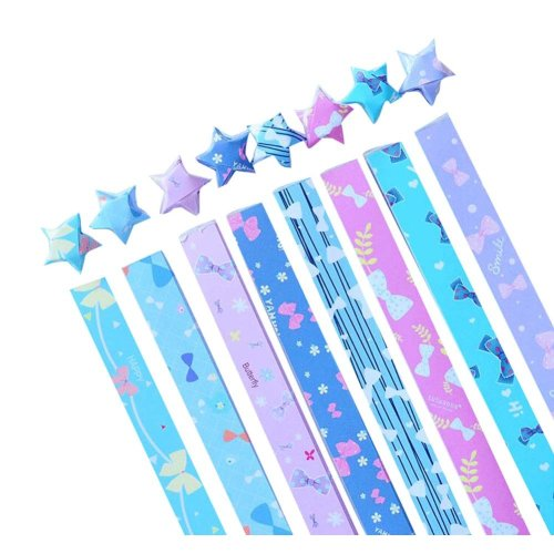 370 Sheets Origami Stars Colorful DIY Folding Paper