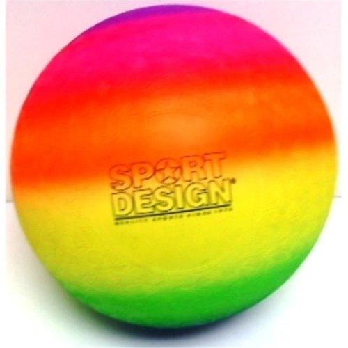 "DDI 1940864 Neon 9"" Rainbow Playground Kickball Case of 36"