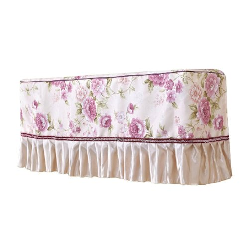 Hanging Air Conditioner Anti Dust Cover PURPLE Flower Sea(86x23x40cm)