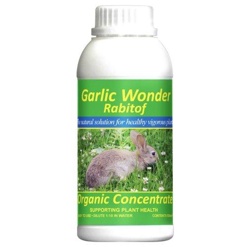 Garlic Wonder Rabitof 500ml - Organic Concentrate (Plant Food + Repellent)