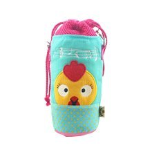 Insulated Baby/Kids Bottle Tote Bag Portable Fashion Feeding Bottle Bag Blue
