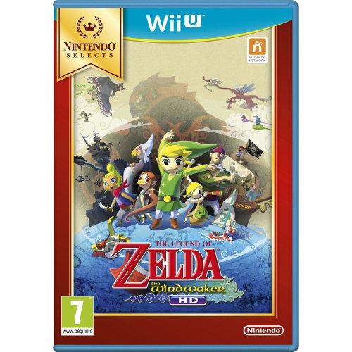 The Legend of Zelda Wind Waker HD Nintendo Wii U Game - Selects Edition