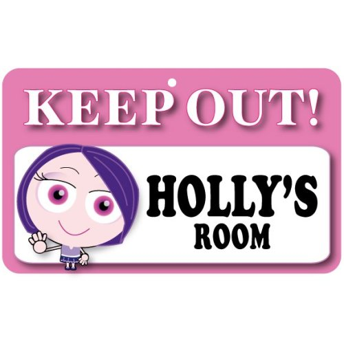 Keep Out Door Sign - Holly's Room