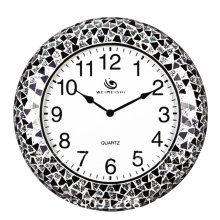 GoedYE Black Porcelain wall clock 46cm