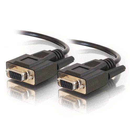 C2G 2m DB9 Cable 2m DB9 DB9 Black serial cable