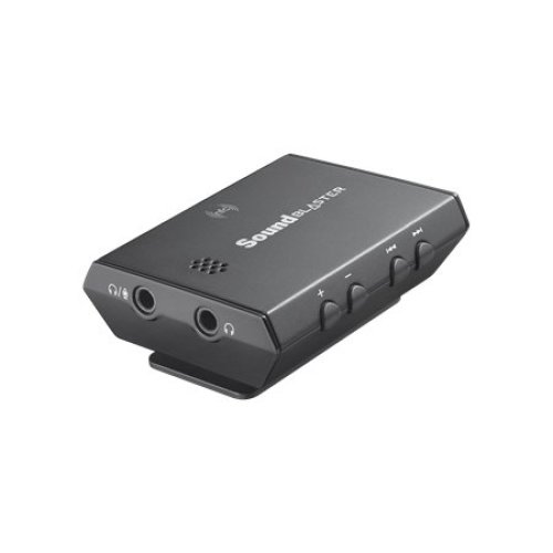Creative Labs Sound Blaster E3 USB Black Bluetooth audio transmitter