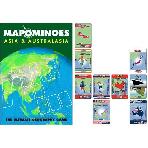 Mapominoes Asia And Australasia