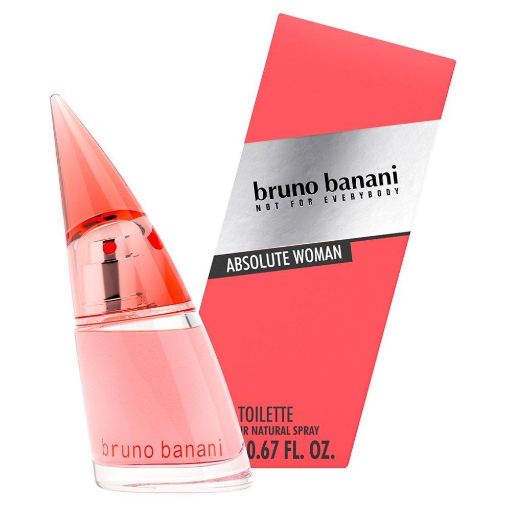 Bruno Banani absolute Natural Woman Eau de Toilette Spray 20ml