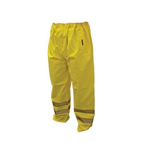 Scan OC-124-L Hi-Vis Motorway Trouser Yellow 38-40in - L