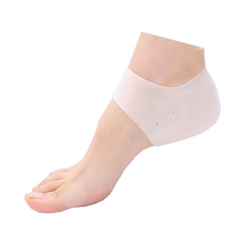 Silicone Heel Protector Heel Brace For Hard, Cracked, Dry Skin 3 Pair
