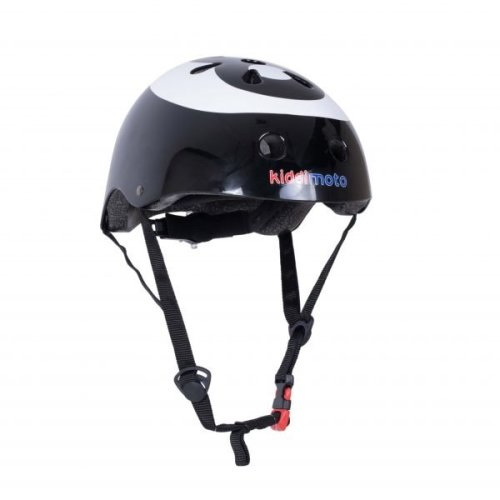 Kiddimoto Children's Bike / Scooter / Skateboarding Helmet - 8 Ball Design