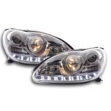 Daylight headlight  Mercedes S-Classe type W220 Year 98-05 chrome