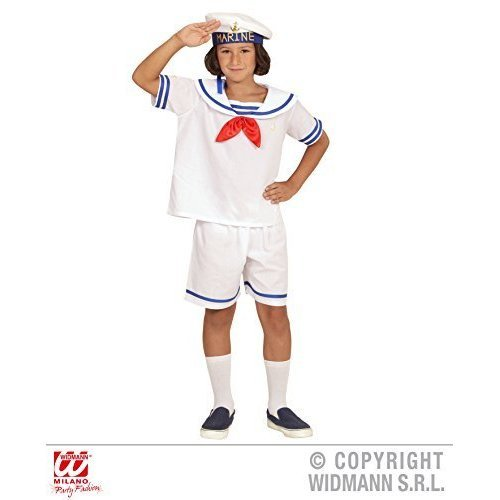 Retro Sailor- Childrens Fancy Dress Costume - Small - Age 5-7 - 128cm - retro sailor costume fancy dress boys navy crew military seaman outfit  sc 1 st  OnBuy & Retro Sailor- Childrens Fancy Dress Costume - Small - Age 5-7 ...