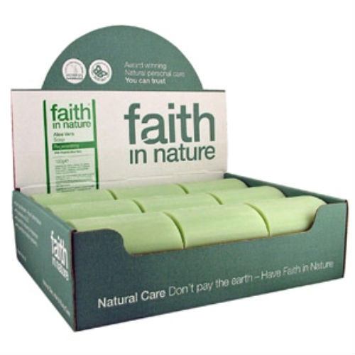 Faith in Nature Neem Soap Unwrapped X 18 Box